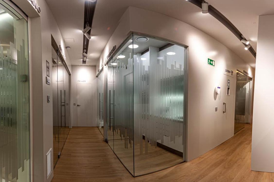 N&N. Nuño y Nuño Arquitectura interior Zaragoza. Interiorismo y decoración. Lara & Ochoa Clínica Dental, Logroño, La Rioja