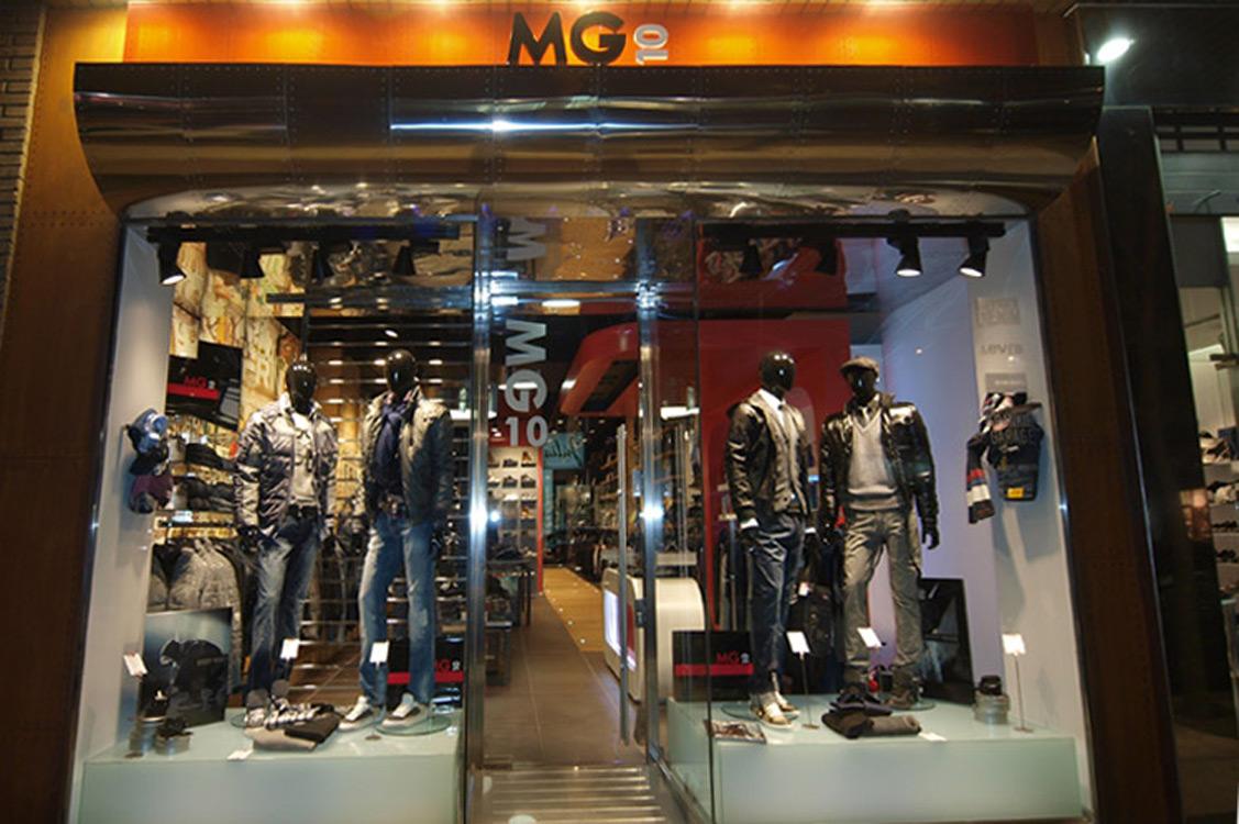 N&N. Interiorismo y decoración. Tienda MG10, Zaragoza