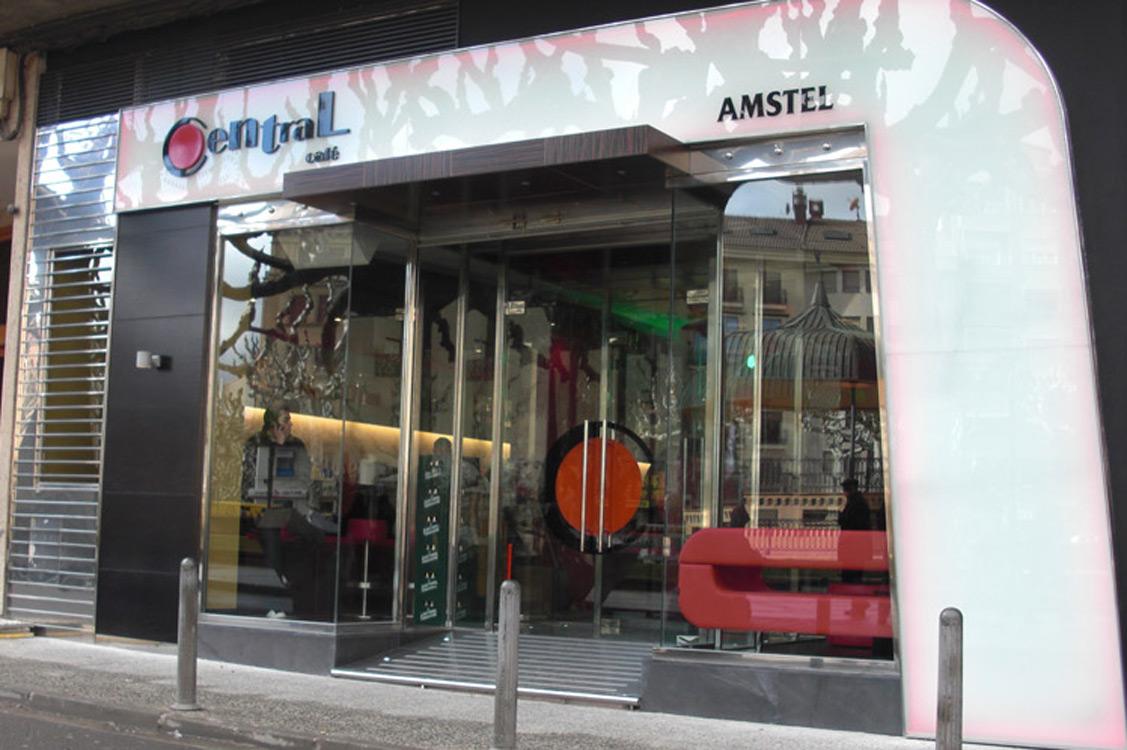 N&N. Nuño y Nuño Diseño y decoración Hostelería Zaragoza. Bar Central Calatayud