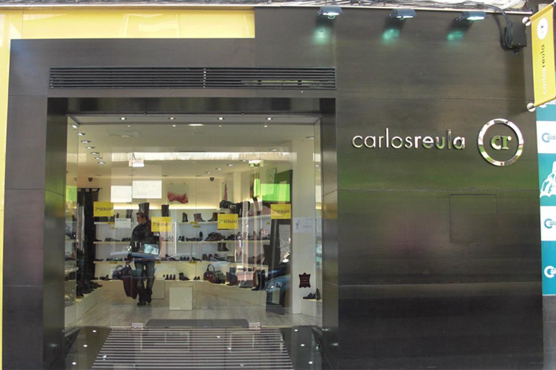 N&N. Interiorismo y decoración. Tienda de calzado Carlos Reula, Paseo de la Damas, Zaragoza