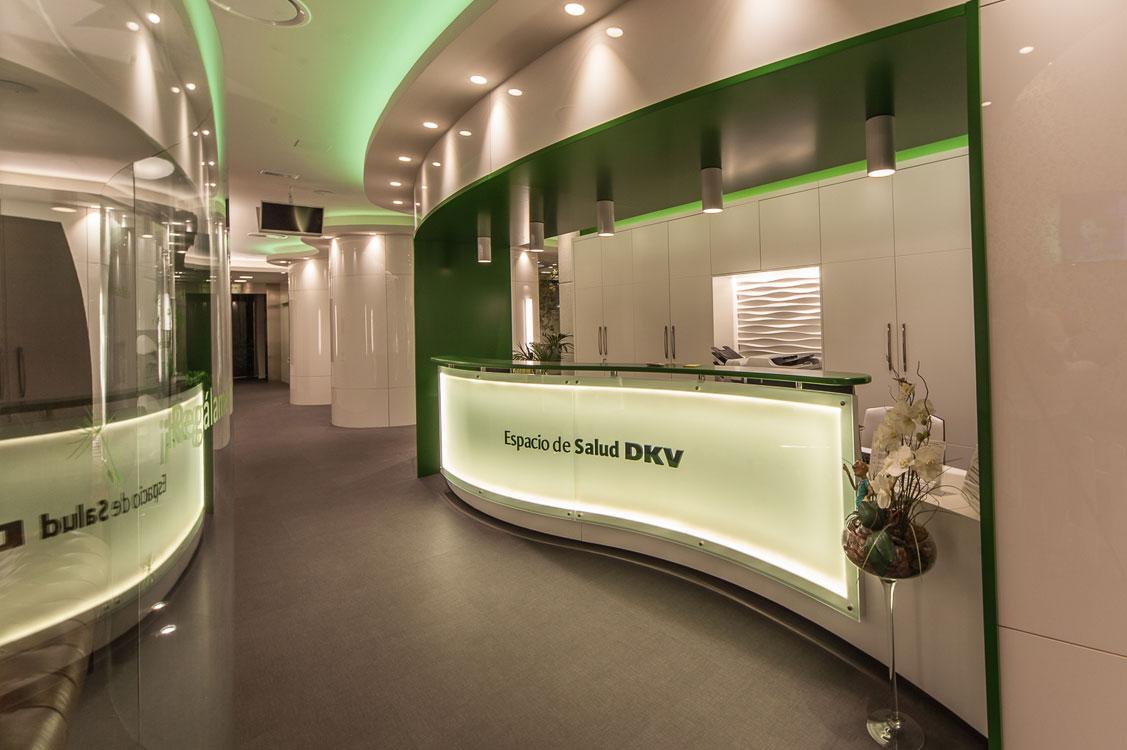 N&N. Interiorismo y decoración. Centro Dental DKV, Zaragoza