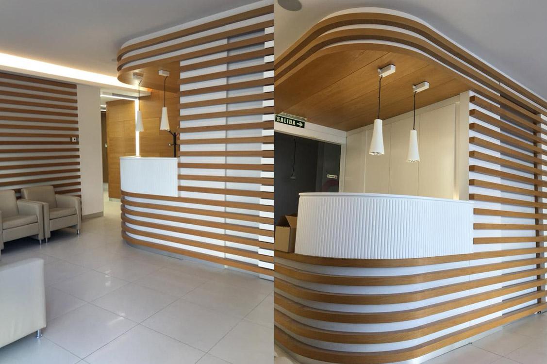 N&N. Nuño y Nuño Arquitectura interior Zaragoza. Interiorismo y decoración. Clínica Dental Cabezón & Fernández, Pamplona, Navarra