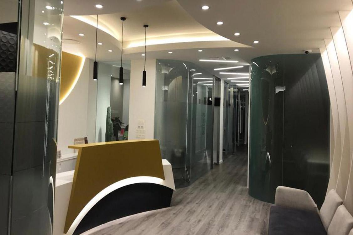 N&N. Nuño y Nuño Arquitectura interior Zaragoza. Interiorismo y decoración. Clínica Dental y Consulta Pediatría. Zaragoza