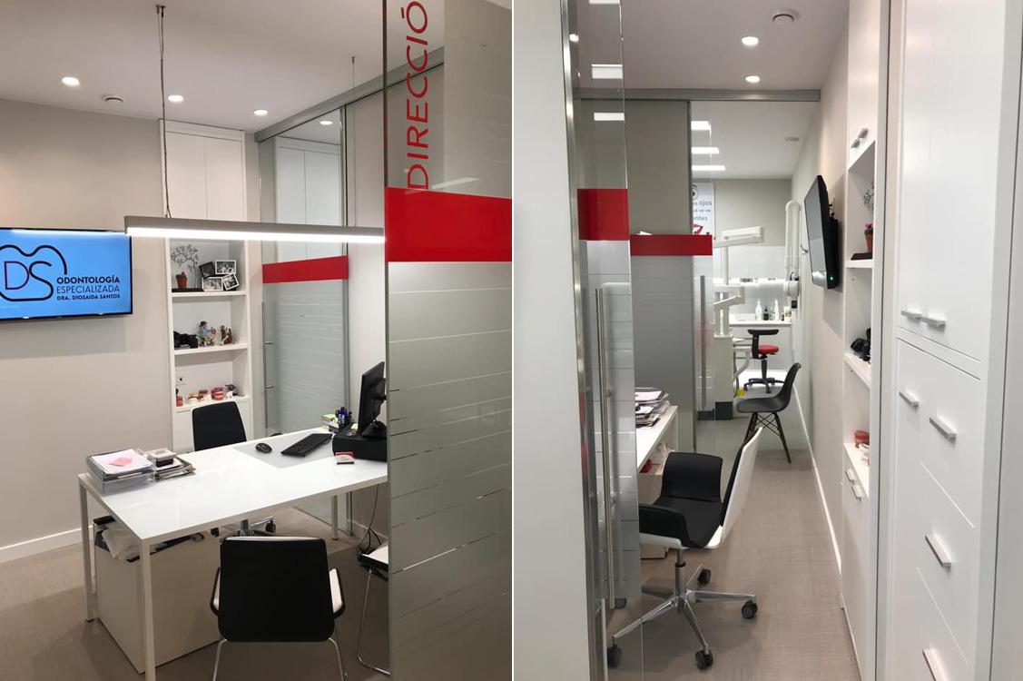 N&N. Nuño y Nuño Arquitectura interior Zaragoza. Interiorismo y decoración. DS Odontología Especializada, Calatayud, Zaragoza.
