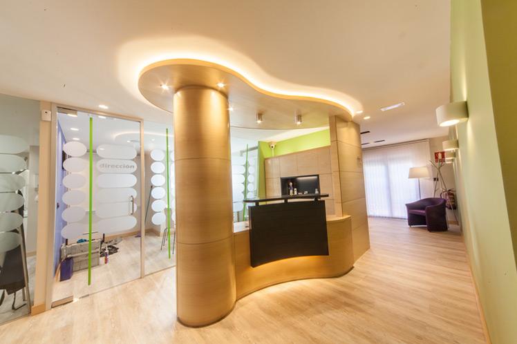 N&N. Interiorismo y decoración. Clínica Dental M. Chueca