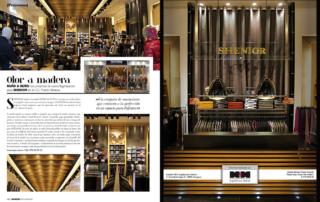 Nuño & Nuño presentan la tienda Shenior en el C.C. Puerto Venecia. Revista BEANDLIFE.