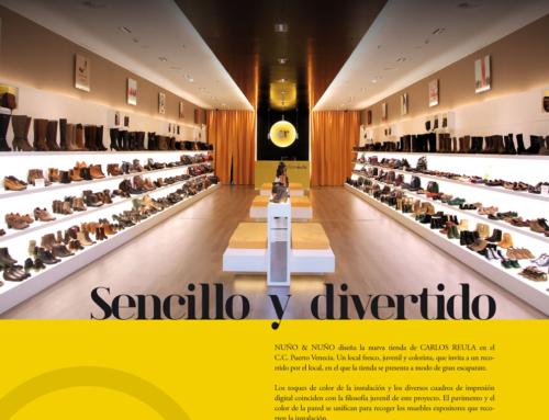 Nuño & Nuño diseña la nueva tienda de Carlos Reula en Puerto Venecia.