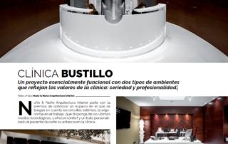NyN Arquitectura Interior Zaragoza. Revista Beandlife Artículo sobre la Nueva Clínica Dental Bustillo en Pamplona.