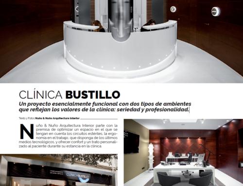 Artículo sobre la Nueva Clínica Dental Bustillo de Pamplona. Revista BEANDLIFE.