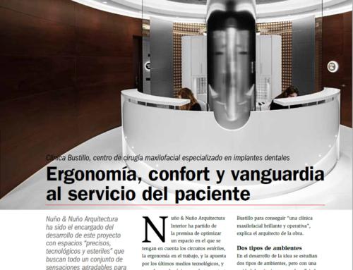 Artículo sobre la Nueva Clínica Dental Bustillo de Pamplona. Revista El Dentista Moderno.
