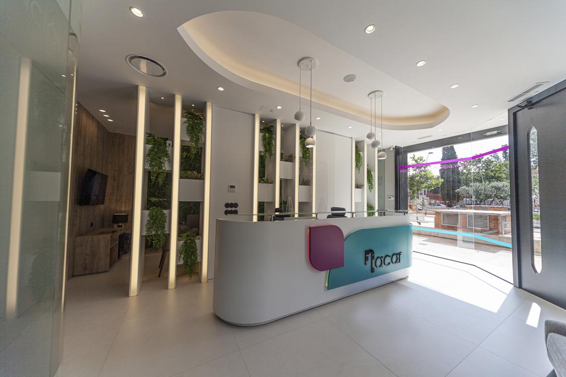 N&N. Nuño y Nuño Arquitectura interior Zaragoza. Interiorismo y decoración. Clínica Dental Nacar, Zaragoza.