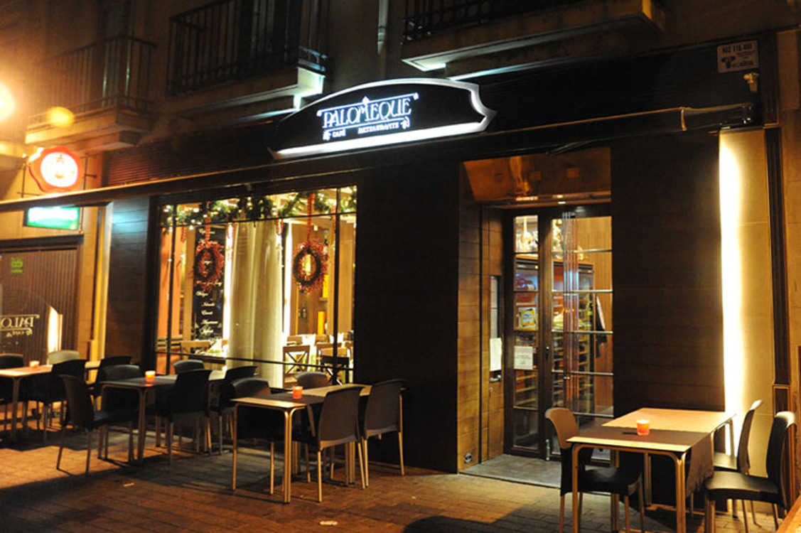N&N. Nuño y Nuño Diseño y decoración Hostelería. Restaurante Palomeque, Zaragoza.