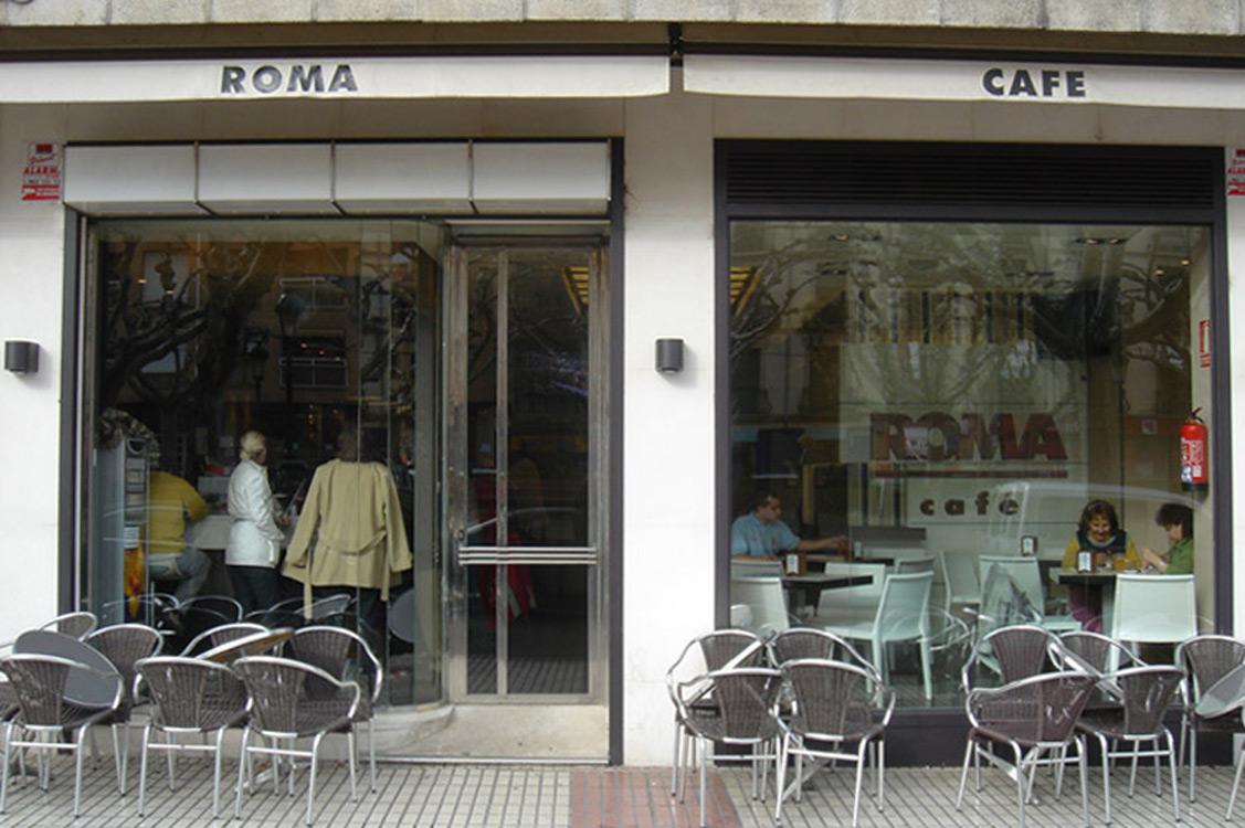 N&N. Nuño y Nuño Diseño y decoración Hostelería. Café Roma, Calatayud, Zaragoza.