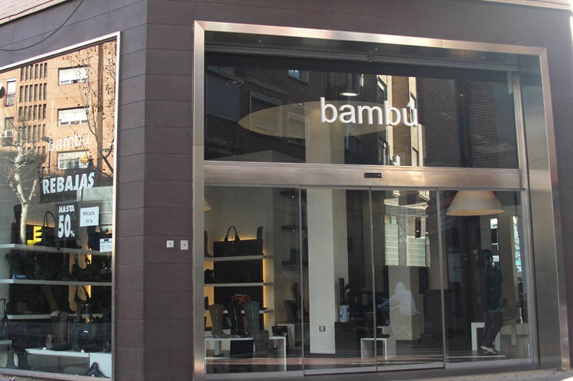 N&N. Interiorismo y decoración. Zapatería Bambú, Zaragoza